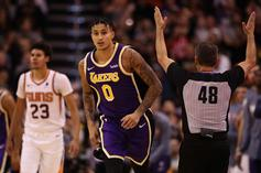 Kyle Kuzma Showered With Love By LeBron James & AD After Huge Win