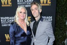 """Aaron Carter & His Mother Called Out By PETA For """"Slapping"""" Dog On IG Live"""