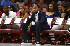 Stephen A. Smith Reveals What He Told Carmelo Anthony Prior To Debut
