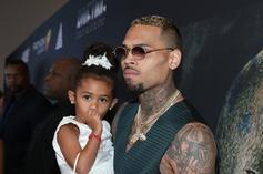 Chris Brown's Daughter, Royalty, Gets All Dressed Up To Meet Santa