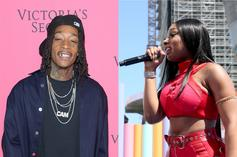 Megan Thee Stallion Has Firm Grip On Wiz Khalifa As They Ride Around To Prophetic Song