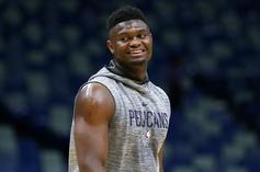 Antonio Brown & Zion Williamson Link Up In New Orleans, Fans React