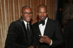 "Tommy Davidson Recalls Jamie Foxx's ""Mean"" & ""Competitive"" Ways On Set"