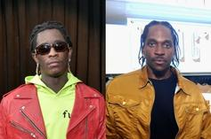Young Thug Goes In On Pusha T, Accuses Him Of Using Pop Smoke To Target Drake