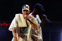 Eminem Curses Out Drew Brees, Raps About COVID-19 & More On Kid Cudi Collab