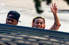 Tekashi 6ix9ine Mocks Man After Security Snatches His Phone
