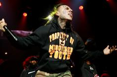 """6ix9ine Chants """"F**k Durk"""" On IG Live For Not Dropping An Album"""