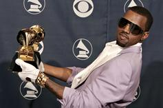 Kanye West Pees On His Grammy, Asks Drake & Kendrick Lamar For Support
