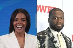 "Candace Owens Defends 50 Cent's Trump Support: ""He's Smart & You're Not"""