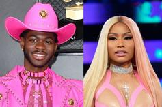 "Lil Nas X Is Nicki Minaj For Halloween In Jaw-Dropping ""Super Bass"" Costume"