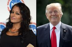 "Claudia Jordan Says Trump Was Nice To Her ""Because He Wanted To F*ck"""