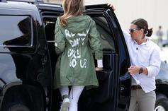 """Melania Trump Wanted To """"Drive Liberals Crazy"""" With """"I Really Don't Care"""" Jacket"""