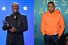 Nas & Eddie Murphy Link Up To Create 'Coming 2 America' Merch