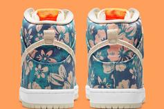"""Nike SB Dunk High """"Hawaii"""" Officially Unveiled: Release Info"""