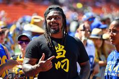 Marshawn Lynch Asks Dr. Fauci Tough Questions About COVID-19 Vaccine