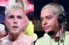 """Jake Paul Is Heated Over Pete Davidson Fight Commentary: """"F*ck That Guy"""""""