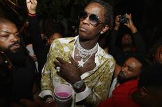 Young Thug Shows Off His Collection Of Plaques & Previews Unreleased Track
