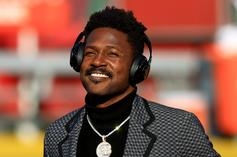 Antonio Brown Takes On 6ix9ine During Football Workout