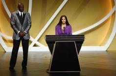 """Vanessa Bryant Honors Kobe With Powerful Hall Of Fame Speech: """"You Did It"""""""