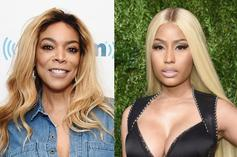 "Wendy Williams Salutes Nicki Minaj For Being An ""Icon,"" Rapper Responds"