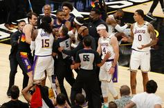 Players Get Heated As Suns Topple Lakers 99-90 To Kickoff Playoff Series