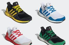 """LEGO x Adidas UltraBoost DNA """"Color Pack"""" Unveiled: Photos"""