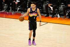 """Devin Booker Is Looking For The Infamous """"Suns In 4"""" Fan"""