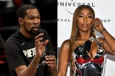 Kash Doll Gets Petty With Kevin Durant After His Historic Night