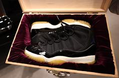 """Rare Signed Player Sample Air Jordan 11 """"Space Jam"""" Is Up For Auction"""