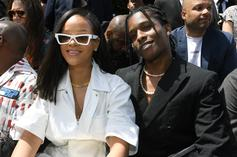 New Pics Show A$AP Rocky & Rihanna During Trip To Miami