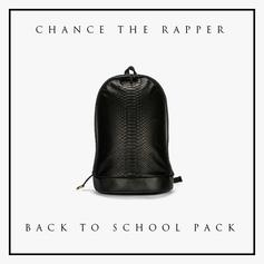 Chance The Rapper - Back To School Pack