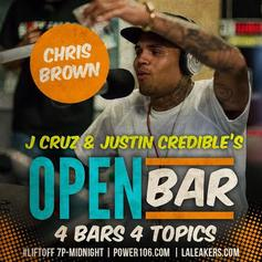 Chris Brown - Open Bar (Freestyle)