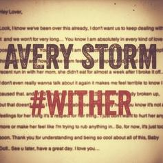 Avery Storm - #Wither