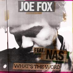 """Nas Jumps On Joe Fox's """"What's The Word"""""""