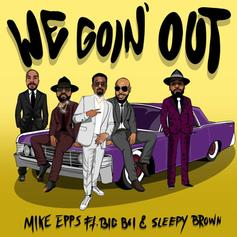 """Mike Epps Links With Big Boi & Sleepy Brown For Funky Single """"We Goin Out"""""""