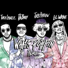 "Jack Harlow Taps Lil Wayne, DaBaby, & Tory Lanez For Crazy ""What's Poppin'"" Remix"