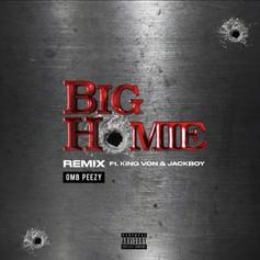"OMB Peezy Connects With King Von & Jackboy For ""Big Homie"" Remix"