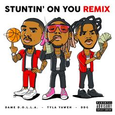 "Tyla Yaweh Remixes ""Stuntin' On You"" With DDG & Dame D.O.L.L.A."