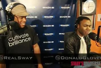 "Childish Gambino ""Sway In The Morning Freestyle"" Video"