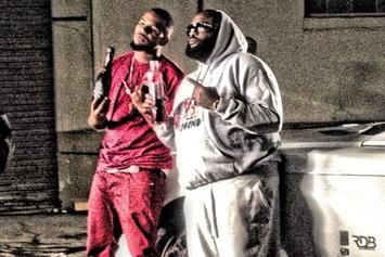 """BTS Photos: Video Shoot For Game's """"Ali Bomaye"""" With 2 Chainz & Rick Ross"""