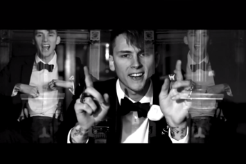 "Machine Gun Kelly Feat. Tezo ""Black Tuxedo"" Video"