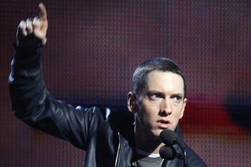 Eminem Performs At G-SHOCK Event & Announces Collaboration For Limited Edition Watch