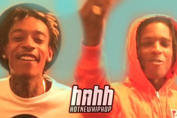 """Wiz  Khalifa Feat. Berner, A$AP Rocky, Ty Dolla $ign, Chevy Woods & Joey Bada$$ """"Under The Influence Tour (Episode 4)"""" Video"""