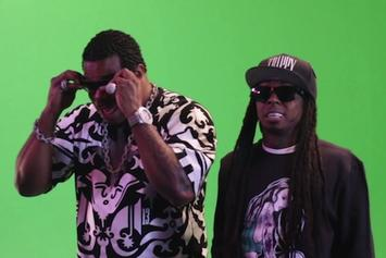 "Busta Rhymes' BTS For ""Thank You"" Feat. Lil Wayne, Q-Tip & Kanye West"