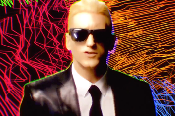 "Eminem ""Rap God"" Video"