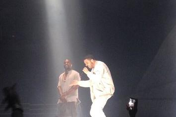 Kanye West Brings Out Drake At Yeezus Tour In Toronto