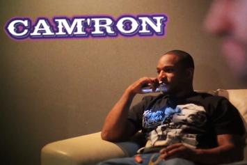 Cam'ron & A-Trak Cook Something Up In The Lab