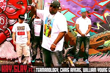 "DJ Kay Slay Feat. Termanology, Chris Rivers, William Young & Papoose ""Enter The Cypher"" Video"