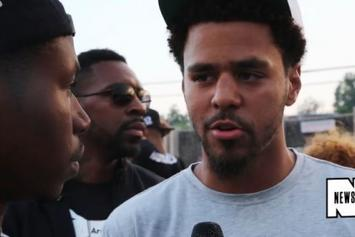J. Cole Talks About His Visit To Ferguson & Shares His Thoughts On Michael Brown