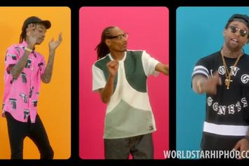 "Wiz Khalifa Feat. Snoop Dogg & Ty Dolla $ign ""You And Your Friends"" Video"